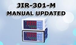 CẬP NHẬT MANUAL JIR-301-M